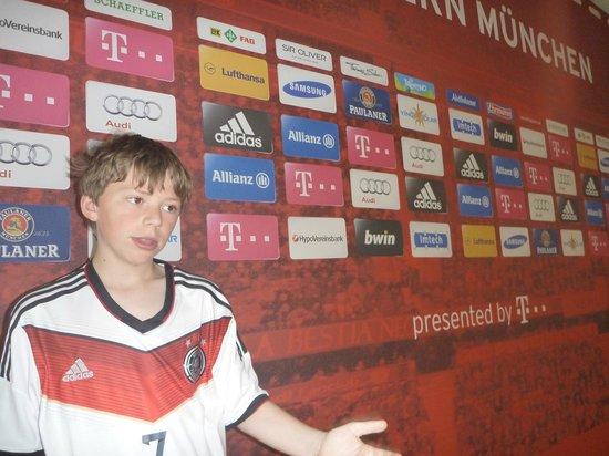 Allianz Arena: press area