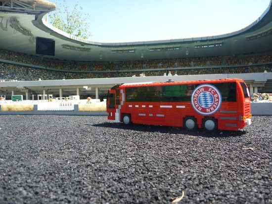Allianz Arena: trick photo - this is elsewhere in Germany
