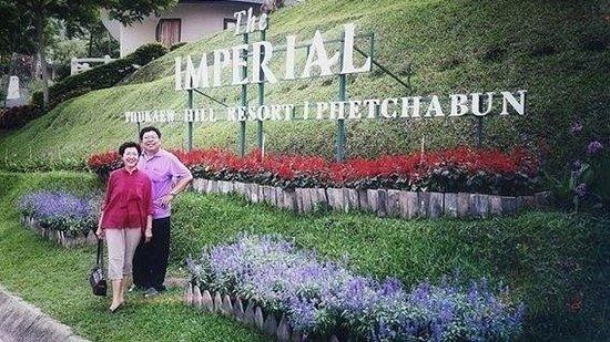 Imperial Phukaew Hill Resort: พาคุณพ่อคุณแม่ไปเที่ยวและพักที่นี่ค่ะ มีความสุขมาก