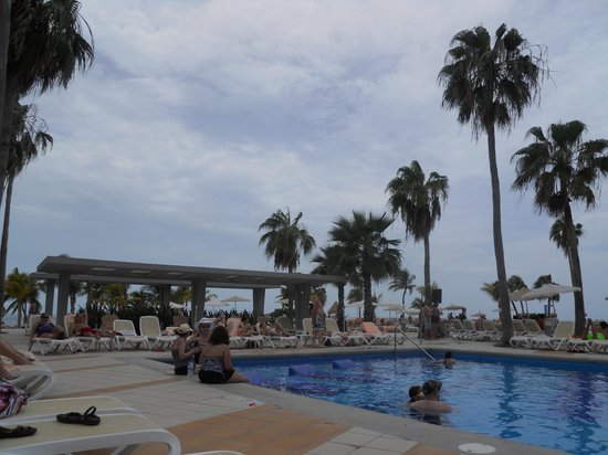 Hotel Riu Palace Peninsula: pool view