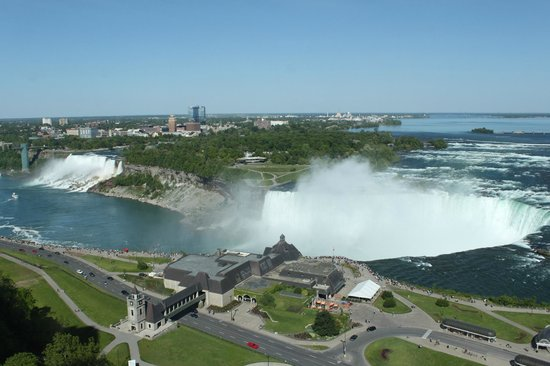 Niagara Falls Marriott Fallsview Hotel & Spa : View from our room...