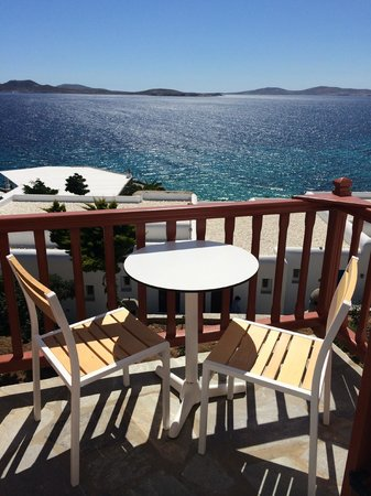Mykonos Grand Hotel & Resort: room with a view