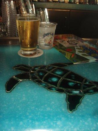 Sloppy Joe's Treasure Island: Bar turtles