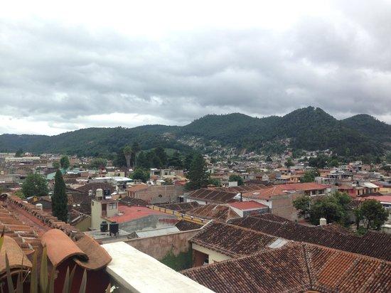 La Joya Hotel San Cristobal: vista desde la terraza