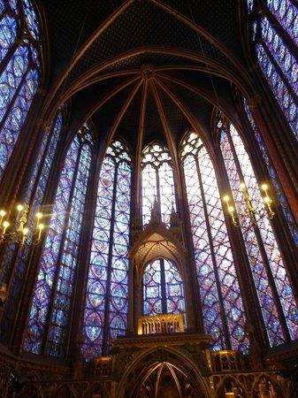 Sainte-Chapelle : Витражи второго этажа