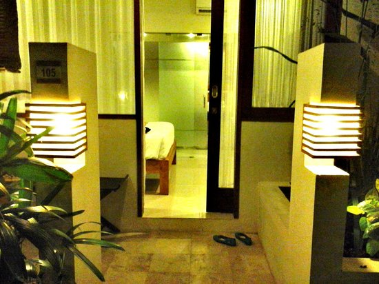 Arana Suite Hotel: Entrance into our room