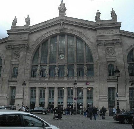 Gare du Nord : la fachada principal