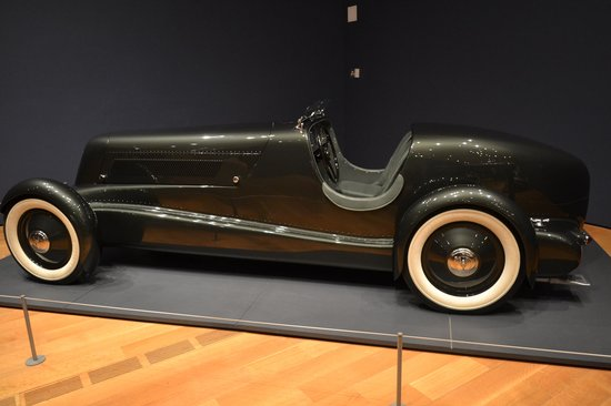 High Museum of Art: 1934 Edsel Ford Model 40 Special Speedster