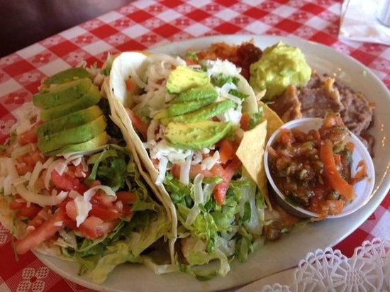 Polli's Mexican Restaurant: Fish Tacos