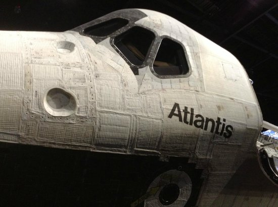 NASA Kennedy Space Center Visitor Complex: The real space shuttle Atlantis