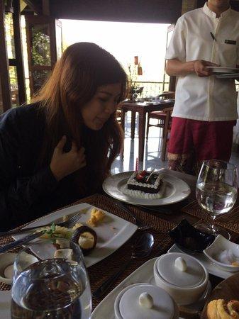 Ayung Resort Ubud: My friend's birthday surprise from F&B team