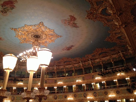 Teatro La Fenice : Ceiling