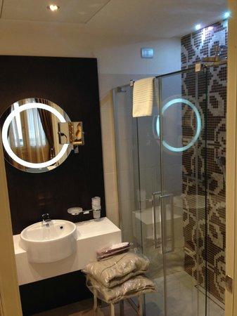 Hotel Moresco: 廁所很乾淨 但只有shower