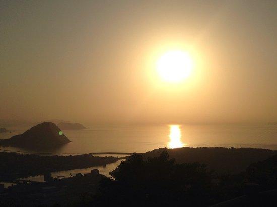 Hagihonjin : 日本海に沈む夕陽
