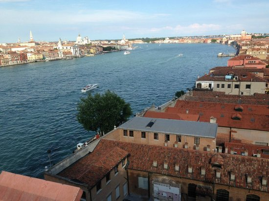 Hilton Molino Stucky Venice Hotel: View from the roof