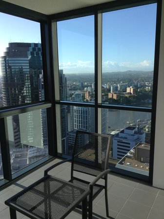 Oaks Charlotte Towers : View from 42nd floor
