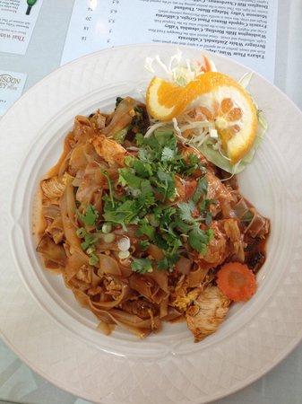 Thai Bangkok Restaurant: Drunken Spicy Noodle