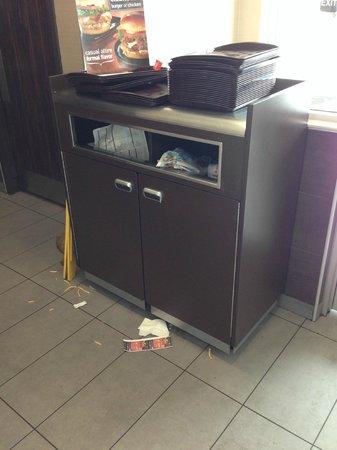 McDonald's: Trash Cans