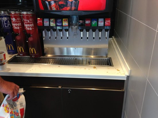 McDonald's: Dirty Drink Station