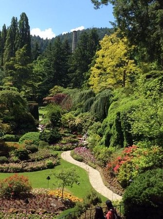 Butchart Gardens : Sunken Garden