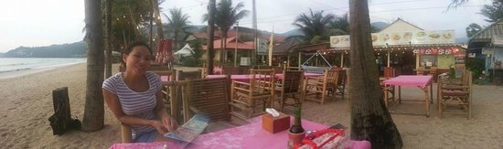 Evening supper & drinks at Coconut Garden - Kamala Beach