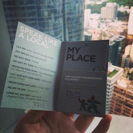 Cordis, Hong Kong at Langham Place: My place and mongkok view