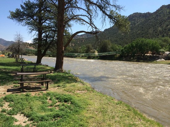 Sweetwater River Ranch: View from Camp site