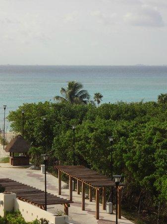 Paradisus Playa del Carmen La Perla: View from room 1376