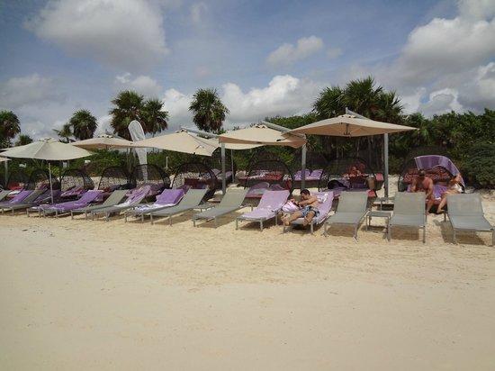Paradisus Playa del Carmen La Perla: Royal Service Beach