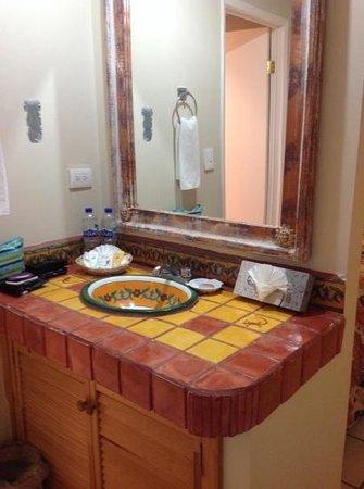La Concha Beach Resort: separate wash area