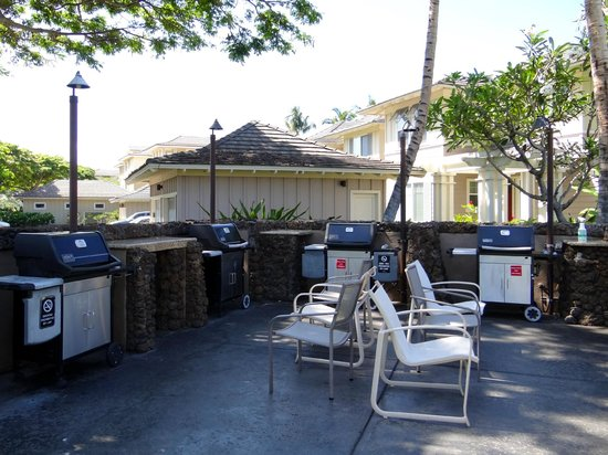 Fairway Villas: BBQ Grills