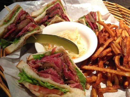 Tock's - A Montreal deli: Great sandwiches