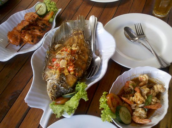 Bale Udang Mang Engking: The food