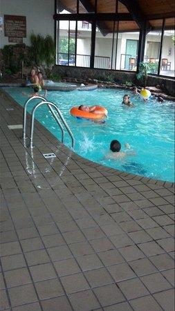 Valley Forge Inn: Inside pool