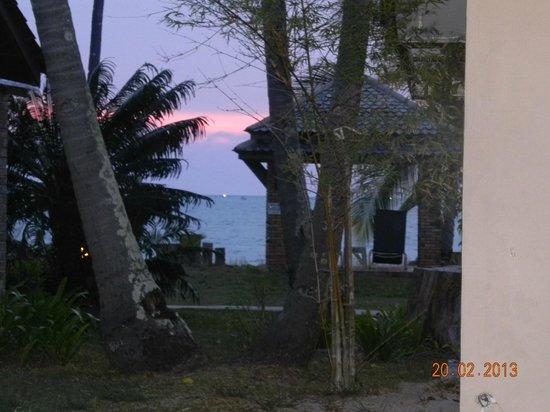 The Frangipani Langkawi Resort & Spa : восхитительный закат