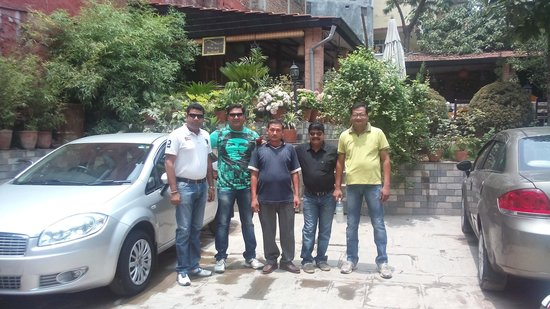 Hotel Encounter Nepal : our sight seen car from hotel