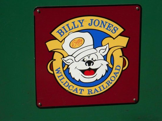 Billy Jones Wildcat Railroad: Logo