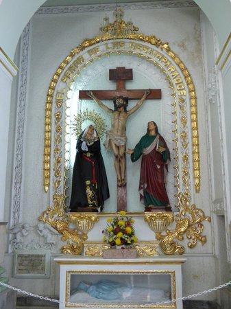La Iglesia de Nuestra Senora de Guadalupe: Side Chapel