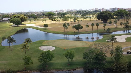 Sheraton Miami Airport Hotel & Executive Meeting Center: View of golf course from room