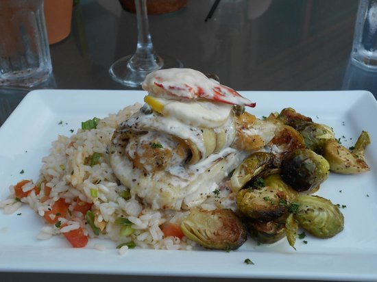 River Driver's Restaurant & Pub : This was Stuffy Haddock and a most delightful dish!