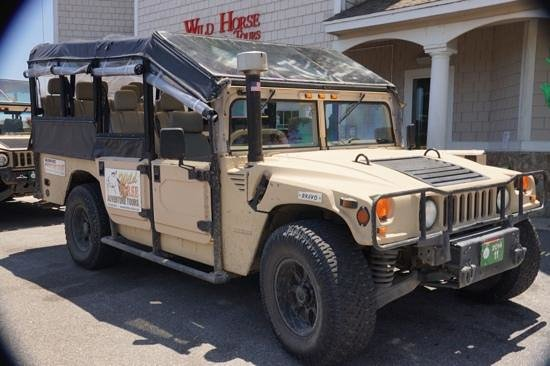 Rick's Jeep Adventures : humvee is the only way to travel