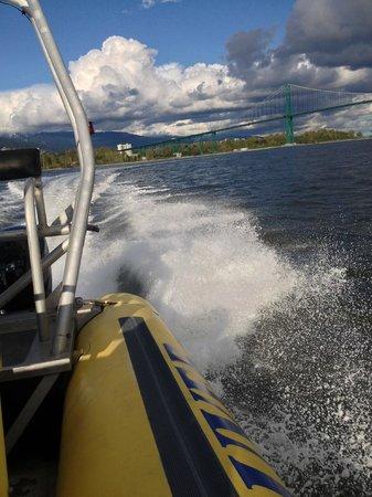 Sea Vancouver - Fast ride!