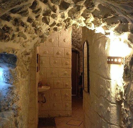 Inside the Jaffa Gate Hostel