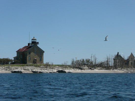 Door County Adventure Rafting : Pilot Island