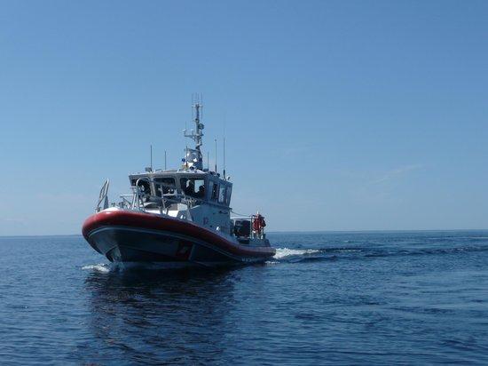 Door County Adventure Rafting : Coast Guard