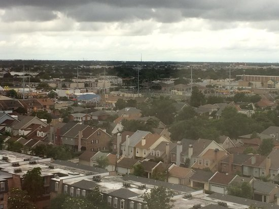 New Orleans Marriott Metairie at Lakeway: The view