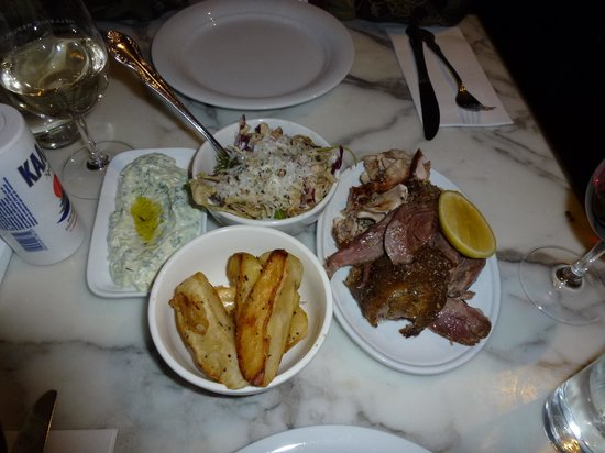 Hellenic Republic Brunswick: the lamb was to die for ... YUM!