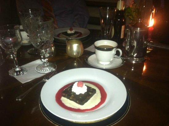 Hillbrook Inn: Dessert