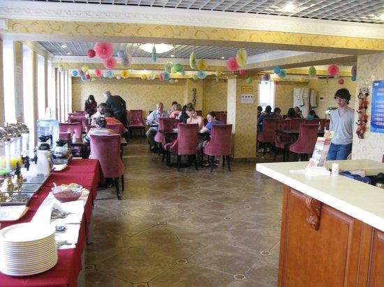 King Parkview Hotel: Ресторан