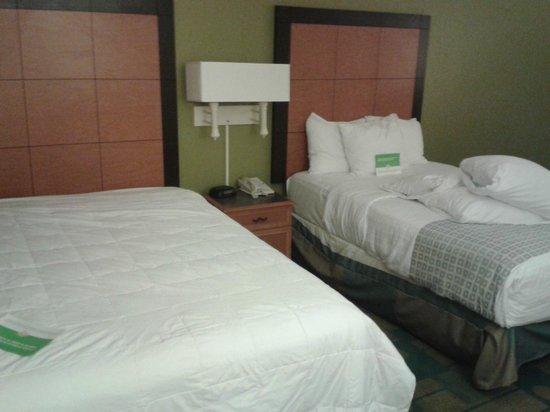 La Quinta Inn Amarillo East Airport Area: My bed was unmade upon arrival at La Quinta.